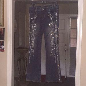Bebe Embellished Jeans